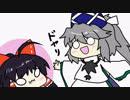 【東方手書きショート】ブチギレ!!れいむちゃん☆649