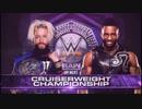 【WWE】エンツォ・アモーレ(ch.)vsセドリック・アレキサンダー【RAW 1.8】