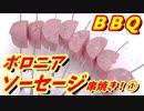 ボロニアソーセージ串焼き!前半!【1080pテスト】【BBQ修造...