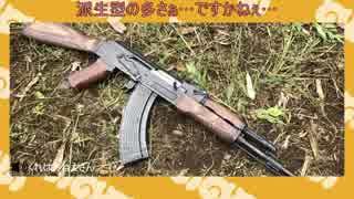 けものフレンズの動物紹介っぽくAK-47を紹
