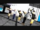 【MMD刀剣乱舞】蛍丸×5でチャンバラジョニー