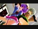 【MMD】ミニスカこいしとさとりでクラブ=マジェスティ 1080p60fps