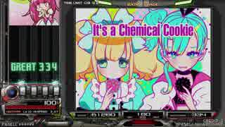 【beatmania IIDX】 Chemical Cookie (SPA) 【CANNON BALLERS】 ※ライン動画