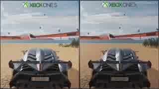 【ForzaHorizon3】 XboxOneX vs OneS 画質