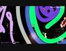 【slither.io】新バージョンでもぐるぐる対決【スリザリオ】