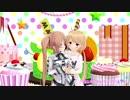 【艦これMMD】ロリ村雨ちゃんと杏ちゃんで恋愛デコレート【アイマスMMD】