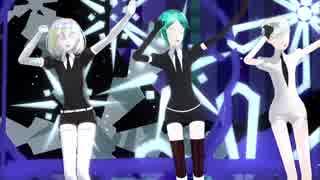 【MMD宝石の国】好き!雪!本気マジック