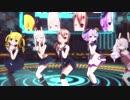 【MMDアズレン】駆逐艦たちで気まぐれメルシィ【1080p】