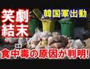 【平昌集団食中毒の原因が判明】 想像どおりの笑劇結末が話題!