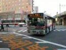 大量に押し寄せる西鉄バス