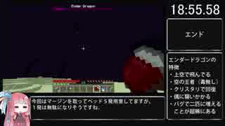 Minecraft Any% RTA【ピースフル・固定シ