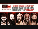 【WWE】EC出場者決定5way戦【RAW 2.12】