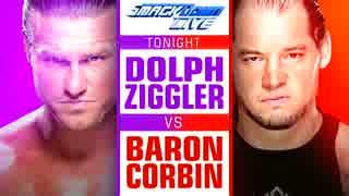 【WWE】ドルフ・ジグラー vs バロン・コー