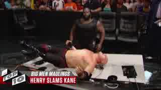 <WWE>巨体が巨体をぶっ潰す! Top10