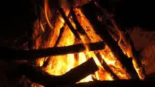 野外で焚き火をする音(睡眠用BGM・作業用BGM)