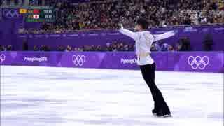 【Bユーロ】羽生結弦 FS / Olympic Winter