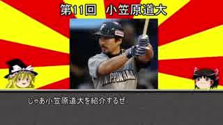 【ゆっくり解説】ゆっくり野球選手紹介・