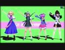 【MMD】東方制服美少女団?【アリス・みょん・射命丸・さとり】1080p版