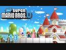 【マリオWiiU】新すごいマリオ兄弟Uを勢いでクリア 13【2人実況】