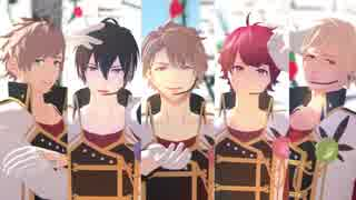【MMDA3!】 ヒバナ 【春組】
