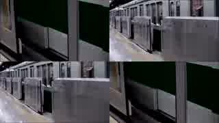 ホームドア族の地下鉄三宮