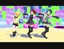 [MMD]Pu式の3人が「Gravity=Reality」踊った
