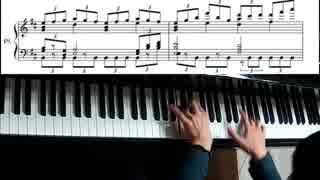 ポケモンBWのエンディング曲を弾いてみた。