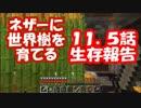 【Minecraft】ネザーに世界樹を育てる【第11.5話生存報告】