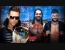 【WWE】今週のIC王座戦線【RAW 3.12】