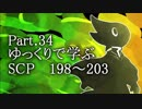 ゆっくりで学ぶSCP 198~203 【Part.34】