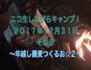 ニコ生しながらキャンプしてみた! 20171231     8/