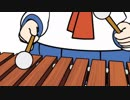 【60fps】【ポプテピピック】木琴スキージャンプをぬるぬるにしてみた
