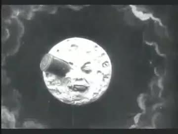 ホモと見る現存最古のSF映画『月世界旅行』