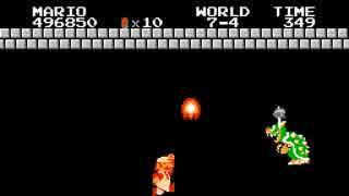 """【TAS】スーパーマリオブラザーズ """"ワープ無"""" by MrWint in 18:37.46"""