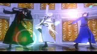 【MMD】刀剣乱舞 元旦ソーラン節トリオでライアーダンス