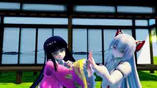 【東方MMD】カラフル×メロディを踊る蓬莱