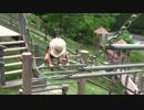【みつえ青少年旅行村】はしごの様な遊具は怖くて断念!ロープ遊具は余裕なのか⁉歌を唄いながら進むあい♥お出かけ キャンプ場