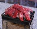ゆるキャン△メタル賽銭箱で肉を焼いてみた!