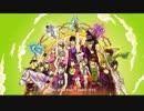 [手書き] ジョジョ4部 OP - Great Days 歴代ジョジョの Edition