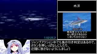 海のぬし釣り全魚種RTA 4時間12分12.8秒