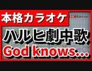 【フル歌詞付カラオケ】God knows...【涼宮ハルヒの憂鬱劇中歌】(涼宮ハルヒ(平野綾))【野田工房cover】