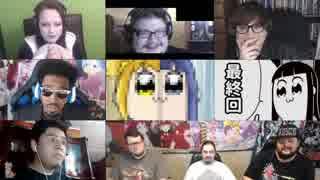「ポプテピピック」12話(最終回)を見た海外の反応