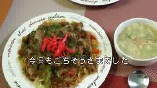 荒谷竜太の今日のお昼ご飯( ゚Д゚)焼うどん