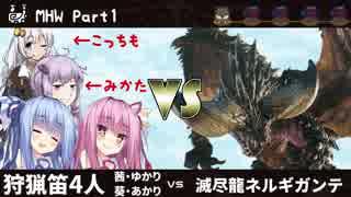 【MHW】SUPER KOTONOHA WORLD!マジ狩るカ
