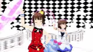 【MMD】奈緒とまゆでPOPPY_PAPPY_DAY