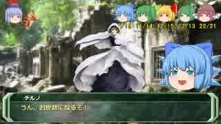 剣の国の魔法戦士チルノ5-2【ソード・ワー