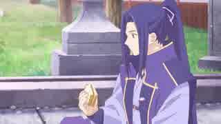 士郎のサンドウィッチに感動するアサシン