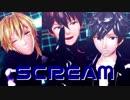 【MMDあんスタ】SCREAM【3Aトリオ】
