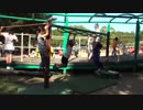 ★【蜻蛉池公園:こどもの国】トンボの遊具 うんていに何回も挑戦するあい❤あと少しの所で落ちてしまいました!TONBOIKE PARK お出かけ★