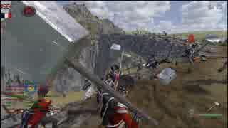 戦列歩兵部 戦場にかける橋の裏技.mount&blade.LOTR.10